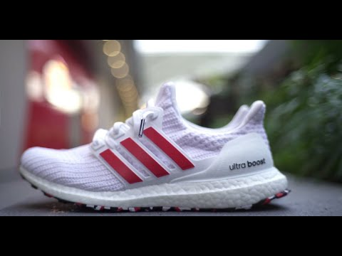 bb0ed018ac5 Adidas Ultraboost 4.0 Laser Red Review and On Feet - YouTube