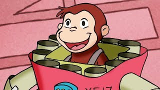 Curious George Robot Monkey Hullabaloo Kids Cartoon Kids Movies Videos for Kids