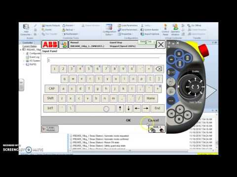 ABB IRC5 Robotic Programming Using Variables in Program Counting tracking
