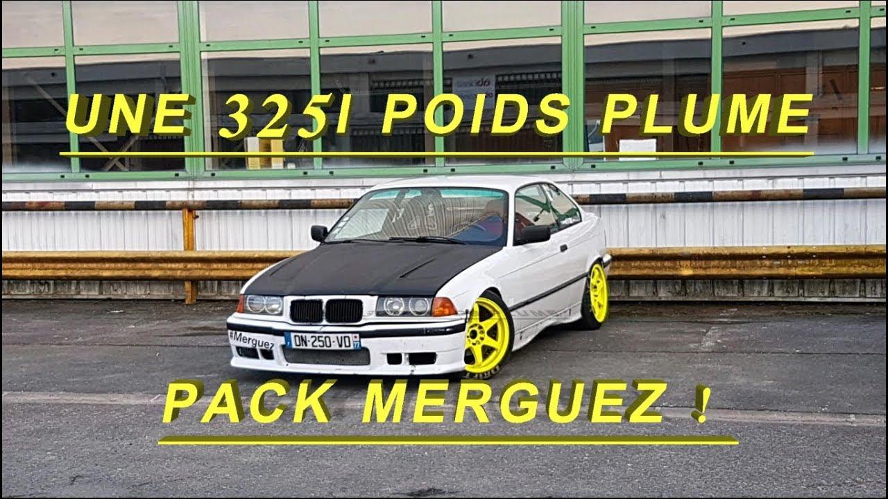 UNE BMW E36 325i POIDS PLUME, PACK ///MERGUEZ !! - YouTube