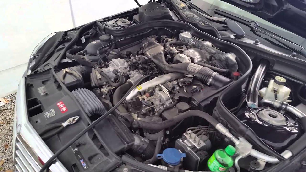 Mercedes E350 Bluetec V6 Diesel Gas In Diesel Tank Flush