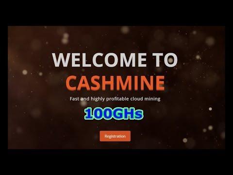 Cashmine Free Mining BTC L 100GHs Earn Btc Dash Eth Ltc ..