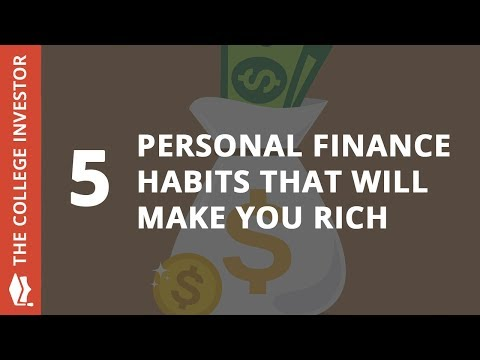 5 Personal Finance Habits That Will Make You Rich