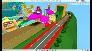 ROBLOX Theme Park Tycoon 2: Disney's California Adventure Paradise Pier Recreation 2001 - 2007