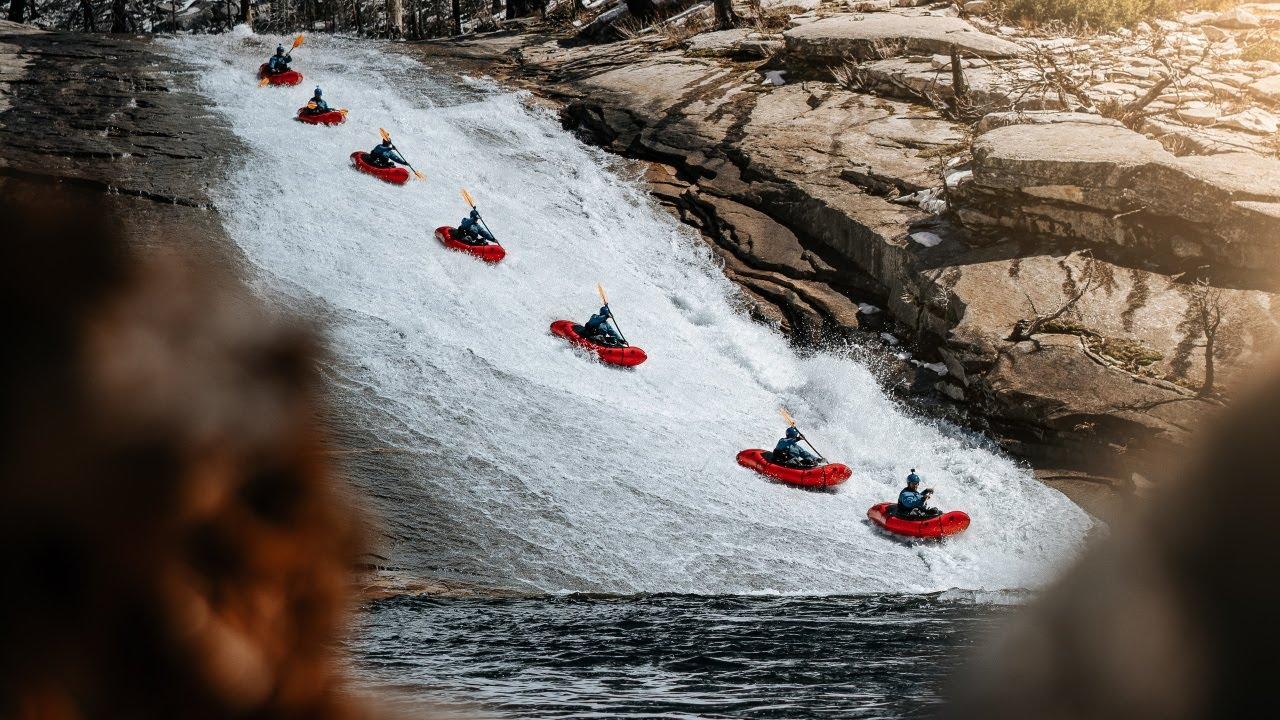 Yosemite Packrafting | Natural Waterslide