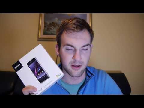 Sony Xperia Z1 Compact okostelefon kicsomagoló videó | Tech2.hu