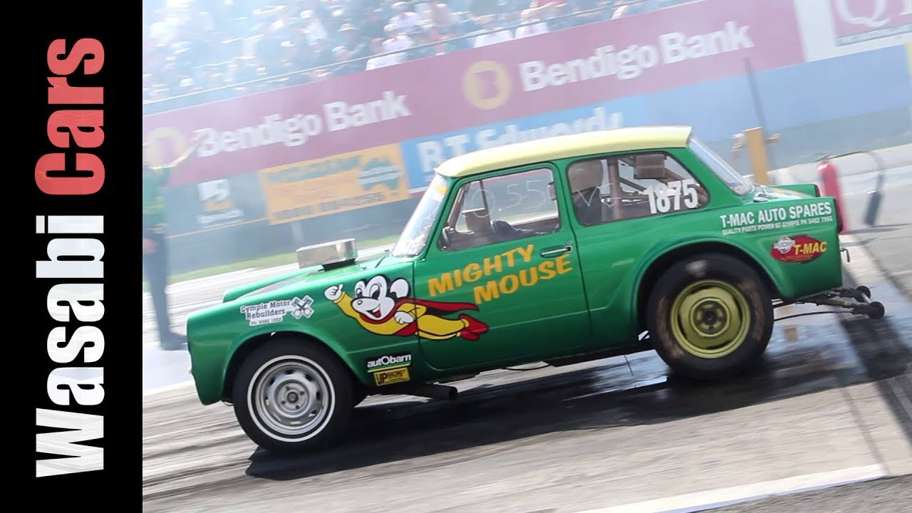 Gasser Drag Racer and Driver Interview: 1960\'s Toyota 700 / Publica ...