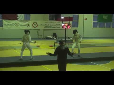 Championnat Arabes Senior  d'escrime 12-2014