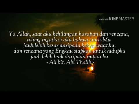 Quotes Kata Kata Ali Bin Abi Thalib Tentang Rindu 77 Quotes X