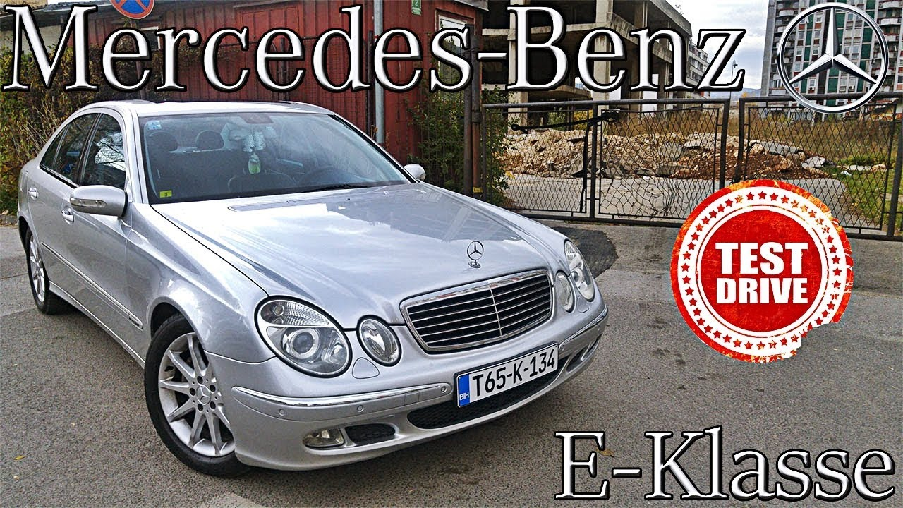 mercedes benz e klasse w211 2004 test review youtube. Black Bedroom Furniture Sets. Home Design Ideas