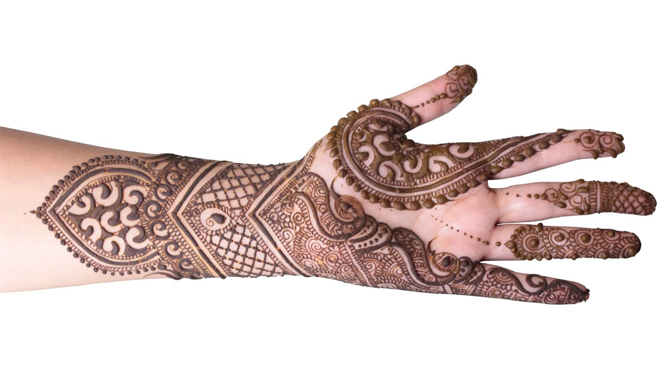Elegant Henna Designs: Elegant Bridal Mehndi Design Step By Step Tutorial