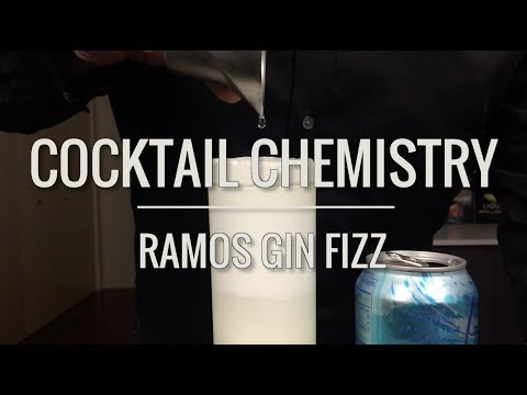 Advanced Techniques - How To Make The Ramos Gin Fizz