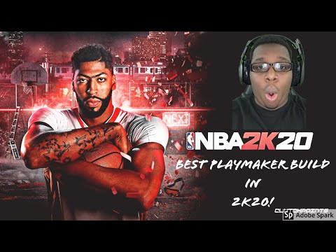 Best 2K20 Playmaking Shot Creator Build!!!!
