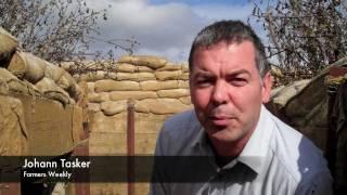 Downton Abbey - how battle scenes were filmed on Suffolk farm