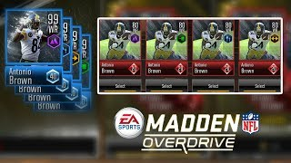 How To Get 99 Ovr Master Antonio Brown -  Madden Overdrive Preview Ep.10