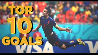 world cup 2014 top 10 goals hd