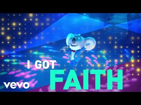 "Stevie Wonder ft. Ariana Grande - Faith (From ""Sing""/Official Lyric Video)"