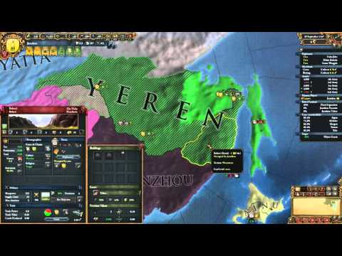 [EU4 1.15] Forming Qing in 1472 (A Manchurian Candidate Achievement) (No commentary)