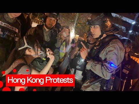 Hong Kong Protests Continue