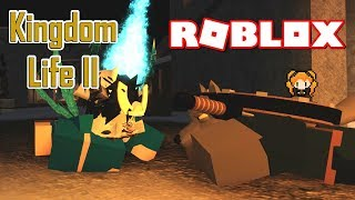 ROBLOX KINGDOM LIFE 2 ROLEPLAY 👑 - My WOLF DOG Runs Away and Won't Listen! 🐕