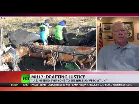 Paul Craig Roberts at RT International on MH17 tribunal proposal