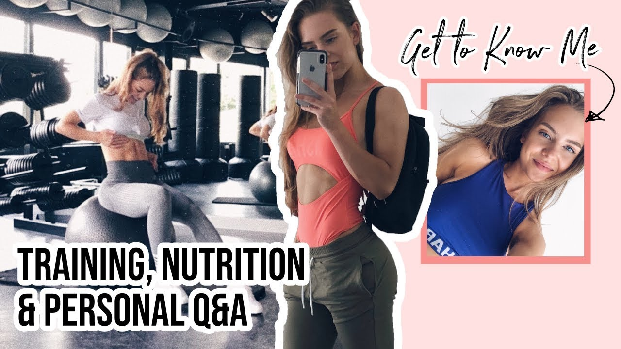 YOUR Personal, Training & Nutrition Questions || GET TO KNOW ME