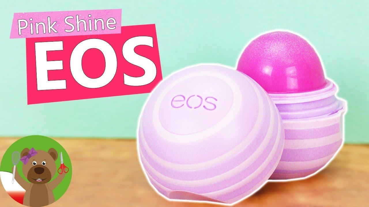 Odświeżamy balsam do ust EOS | nowy kolor balsamu do ust na zimę | DIY Winter
