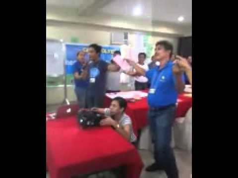 """CMS 3G Mindanao Network sings """"If we hold on together"""""""