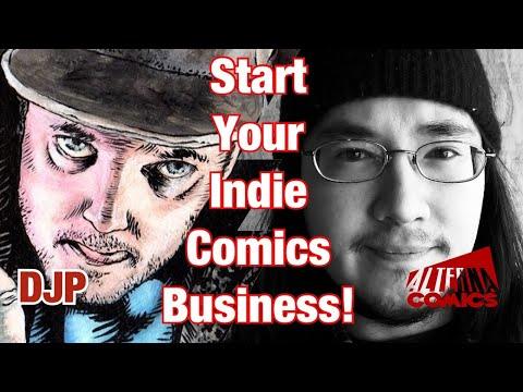 How to Build a Business Self Publishing Comic Books w/ Peter Simeti