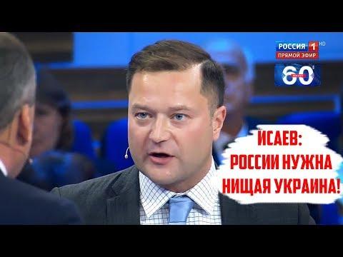 Исаев: «России нужна нищая Украина!»