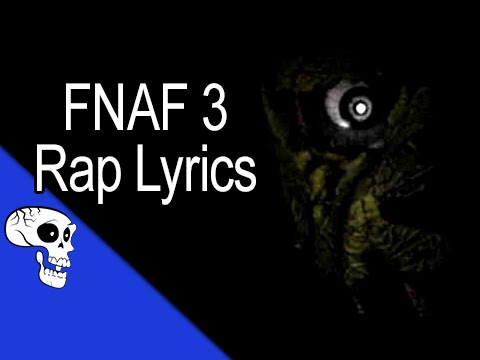 """Five Nights at Freddy's 3 Rap LYRIC VIDEO by JT Music - """"Another Five Nights"""""""