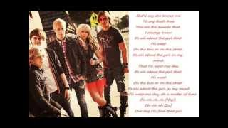 R5 - All about the girl (lyrics)