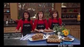 Raisin Cookies, Pecan Sqrs, Swt Potato Brd, Pnt Butter Strudel, Oatmeal Cookies, Pecan Pancake