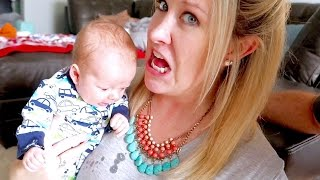 😱 SCARY PROJECTILE SPIT-UP! 👶🏼