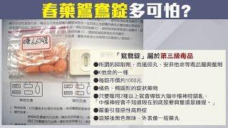 "W飯店小模驗出三種毒..新型春藥""鴛鴦錠""是?【54新觀點】20161221"