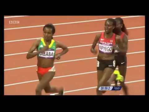 Ethiopian athletics the mother of 10000 m of the whole world (Tirunesh) (Almaz) (Haile)  (Kenenisa)