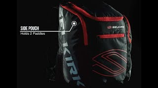 Selkirk 2021 Tour Backpack  Black   Pickleball Backpack  Paddle Case