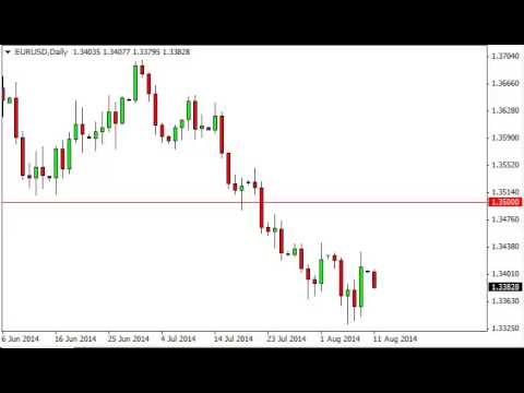 EUR/USD Technical Analysis for August 12, 2014 by FXEmpire.com