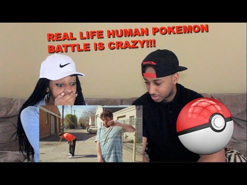 Couple Reacts : Human Pokemon Battle Is Too Crazy!! LOL