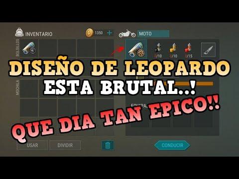 ESTA BRUTAL EL DISEÑO DE LEOPARDO..!   LAST DAY ON EARTH: SURVIVAL   [RidoMeyer]