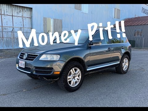 2.5 Year Ownership Cost. 2005 V8 VW Touareg