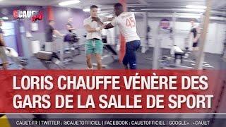 Loris chauffe vénère des gars de la salle de sport - C'Cauet sur NRJ