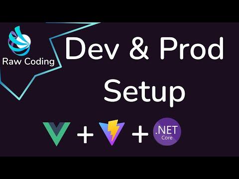 AspNetCore Api + Vitejs + Vuejs Setup for Dev & Prod