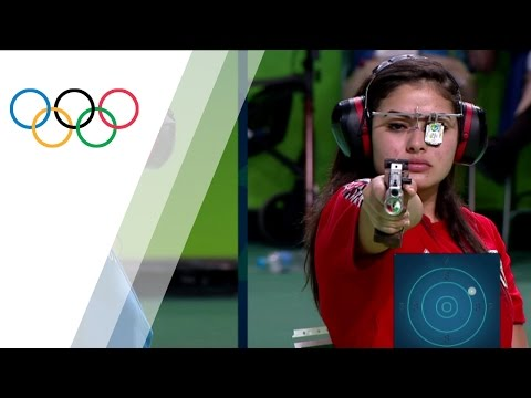 China's Zhang wins gold in Women's 10m Air Pistol