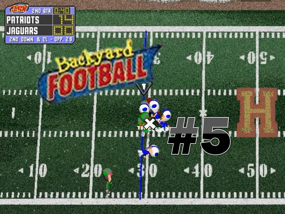 Backyard Football 1999 (PC) Game 5: Jaguars Vs. Tom Brady ...