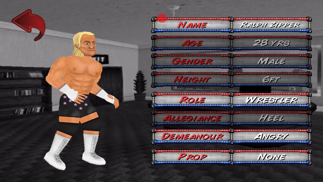 Wrestling Revolution 2d Mod Apk Android 1