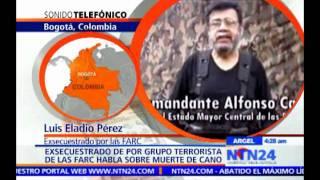 Gambar cover Exsecuestrado por las FARC habla sobre la muerte de Alfonso Cano