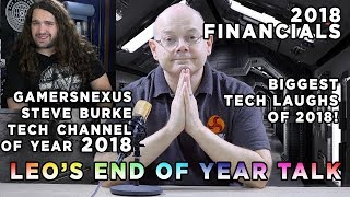 Leo says 34 - GamersNexus YouTube TECH Channel of 2018 and LOTS MORE !