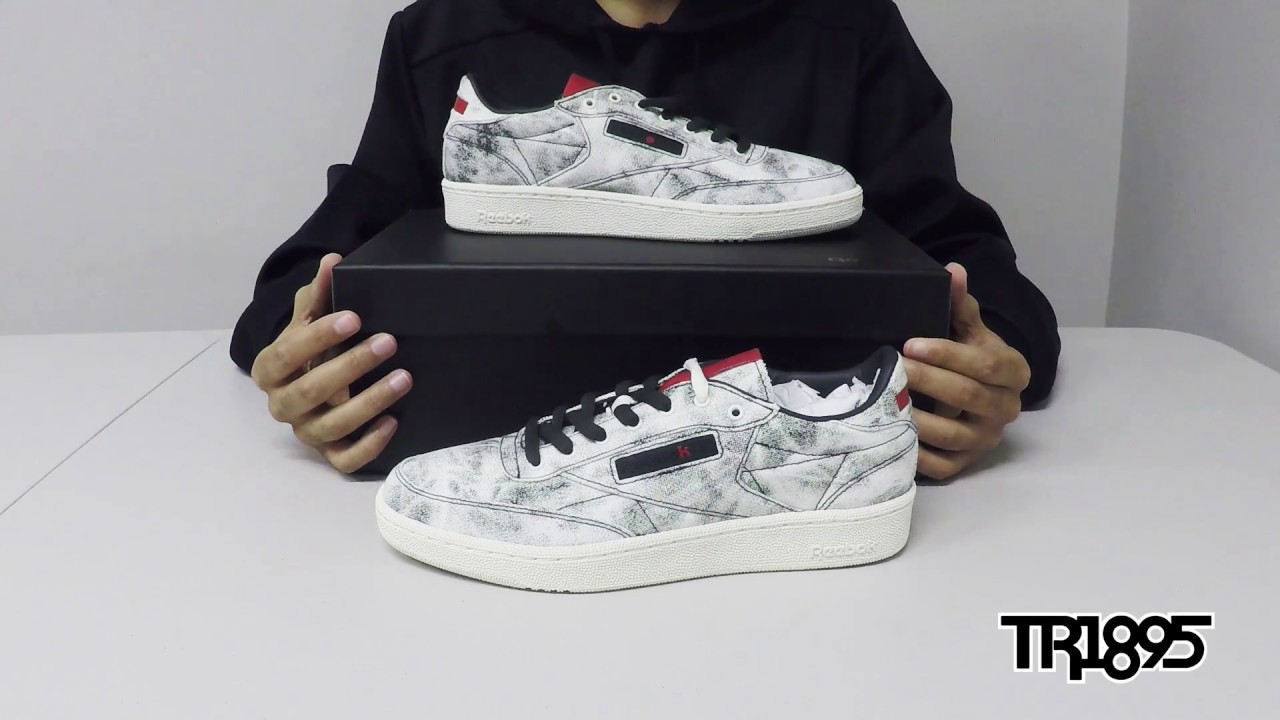 4ed5af99 Kendrick Lamar x Reebok Club C 'Acid Wash' Review
