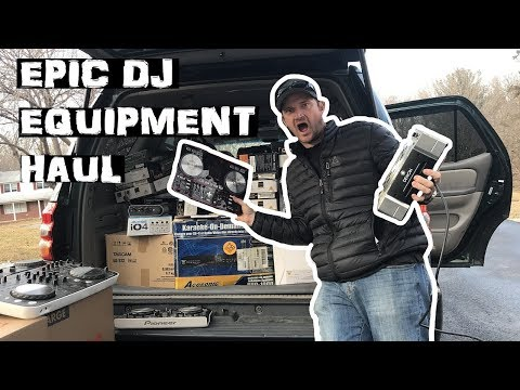 Massive DJ Equipment Storage Unit Haul
